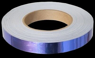 """3/4"""" x 150' Mirror Tape ~ Orchid, Purple, Violet, Circus, Band, Hoop"""