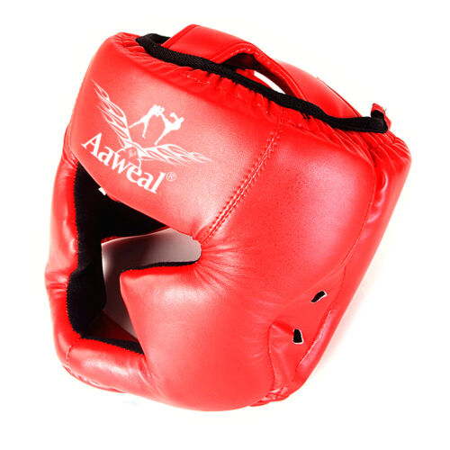 Boxing Training Headgear Face head Protective Gear Helmet Guard MMA Kickboxing