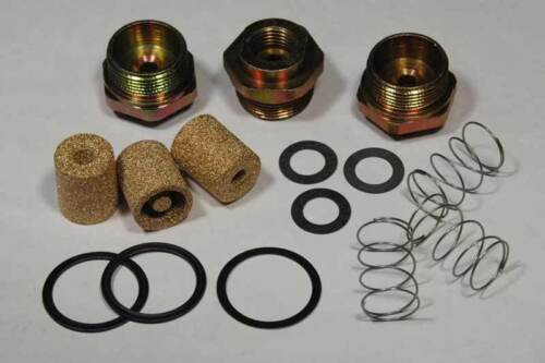 FILTERS 1967-69 TRI POWER CORVETTE HOLLEY FUEL INLET KIT 15PC NUTS GASKETS SPG