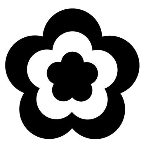 S11 25 Pegatinas de flor de la Margarita Calcomanías Para Coche 38 Colores Portada De Pared