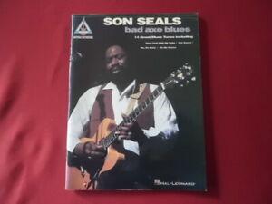 Son-Seals-Bad-Axe-Blues-Songbook-Notenbuch-Vocal-Guitar