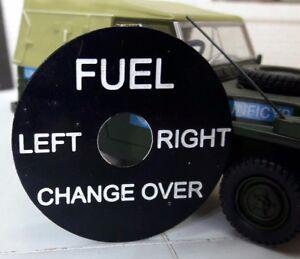 Land-Rover-Serie-Ejercito-Militar-Ligero-Deposito-Combustible-CAMBIO-INTERRUPTOR