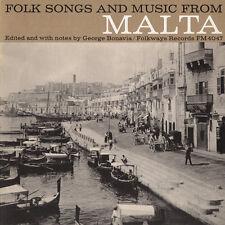 Various Artists - Folk Songs Malta / Various [New CD]