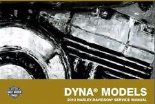2012 Harley Dyna Service Manual Repair OEM CD Collection