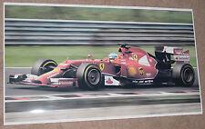 F1 FORMULA 1 FERRARI RACE CAR POSTER 21x36