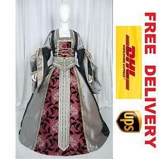MEDIEVAL RENAISSANCE TUDOR WEDDING HANDFASTING LARP GOWN DRESS COSTUME (20K)