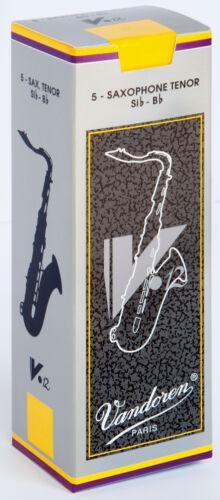 Various Strengths Box of 5 Vandoren V12 Tenor Sax Saxophone Reeds