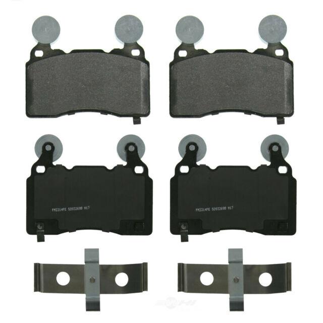 Disc Brake Pad Set-SevereDuty Disc Brake Pad Front Wagner SX748