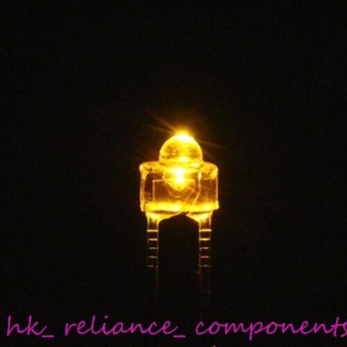 1.8mm ∅1.8 LED AMBER Water Clear 50 pcs