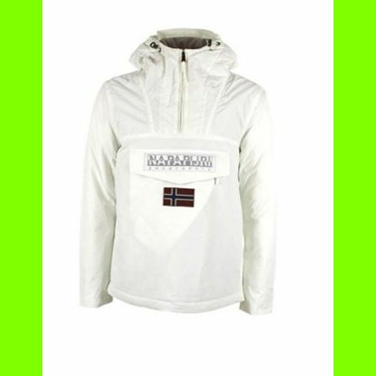 NAPAPIJRI RAINFOREST WINTER A White mis-XL