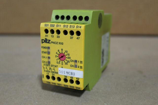 Pilz 774500 Safety Relay PNOX XV2 24VDC