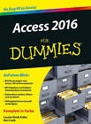 Access 2016 Fur Dummies by Ken Cook, Laurie Ulrich-Fuller (Paperback, 2016)