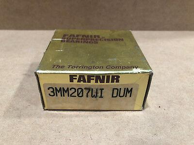 FAFNIR 3MM207WI DUM SUPER PRECISION BEARINGS SKF 7207 ACD//P4ADGB