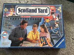 Scotland Yard Board Game Ravensburger Games 1992 Complete