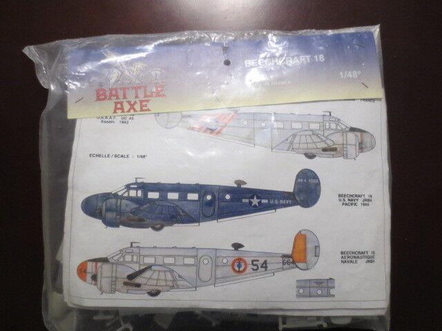 1 48 Battle Axe Beechcraft 18 OOP