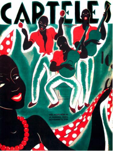7821.Carteles.men playing instruments.woman dancing.POSTER.art wall decor