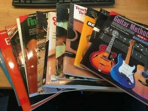 Guitar-Music-Tutors-and-Instruction-Learn-To-Play-Books