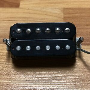 USA-Gibson-490R-Neck-Humbucker-Guitar-PICKUP-Black-Regular-Spaced-Alnico-PAF
