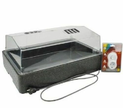 Serre Propagateur 64//50 chauffé Chambre avec température boutures