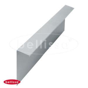 Bellissa-Schneckenblech-Metall-L-100-x-H-20-cm-verzinkt-Schneckenzaun