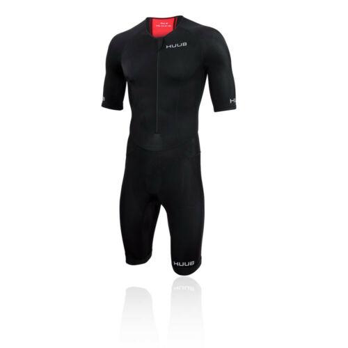 Huub Homme Essential Long cours Tri Suit-Noir Sport Triathlon Respirant