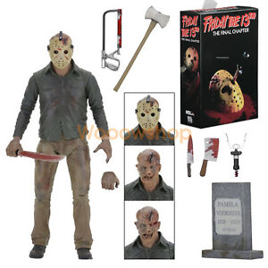 NECA-Friday-The-13th-Final-Chapter-Jason-Voorhees-7-034-Action-Figure-2017-1-12-New