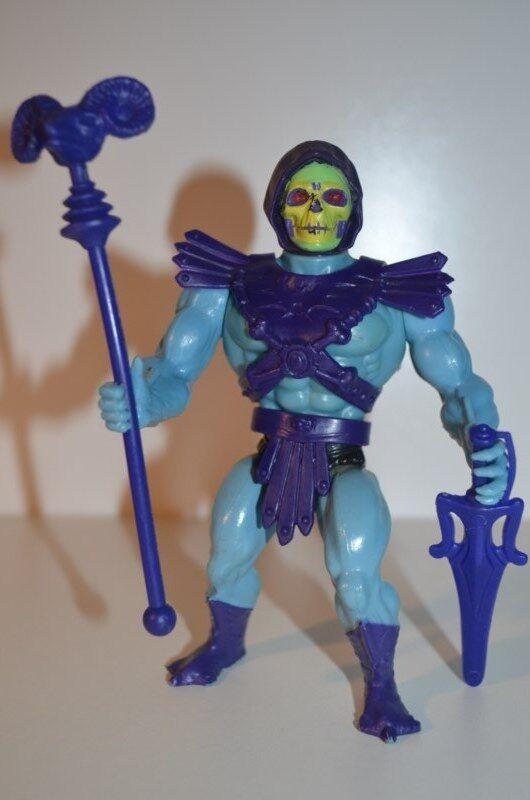 0012 - meister des universums skeletor action - figur - motu mattel