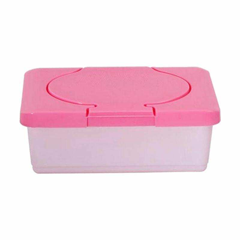 Dry /& Wet Tissue Paper Case Baby Wipes Napkin Storage Box Holder Container D4K2