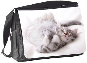 SIBIRISCHE-WALDKATZE-Katze-COLLEGETASCHE-Handtasche-Tasche-Bag-34-SIB-01