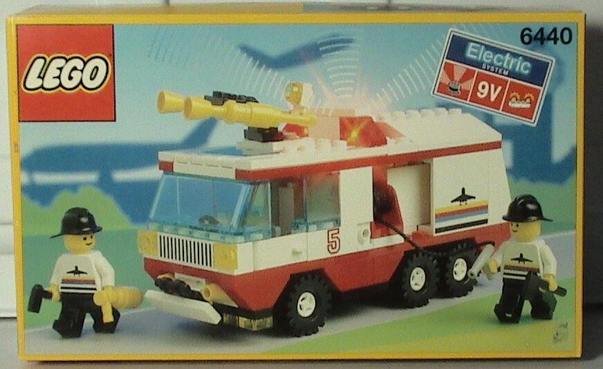 NEW Lego Classic Town Airport 6440 JETPORT FIRE SQUAD förseglad HTF