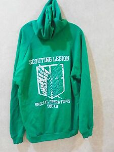 Boy Scouts of America Scouting Legion Special Operation Squad Green
