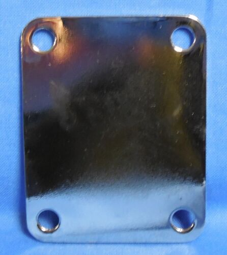 NEW OLD STOCK CORT CHROME NECK PLATE FOR   ELECTRIC GUITAR  4 bolt