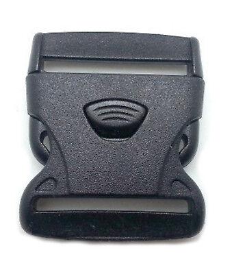 Geschickt 10 Stück Klickverschluss /klippverschluss Steckschließer Für Gurtband 50mm 3pkt Einfach Zu Schmieren Nähen