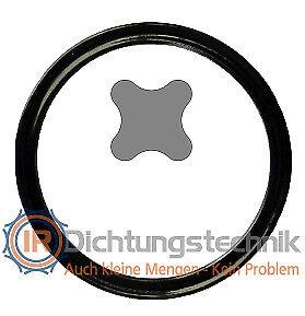 X-Ringe XRING QRING Quadrng InnenØ InnerØ 20-49 mm x SchnurØ Cord Thickness