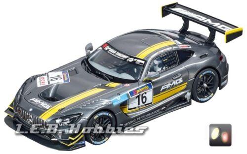 """Carrera Digital 132  Mercedes-AMG GT3 /""""No.16/"""" slot car 30767"""