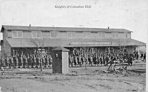 LOUISVILLE-WW1-U-S-ARMY-CAMP-ZACH-TAYLOR-KNIGHTS-OF-COLUMBUS-HALL-1918-POSTCARD