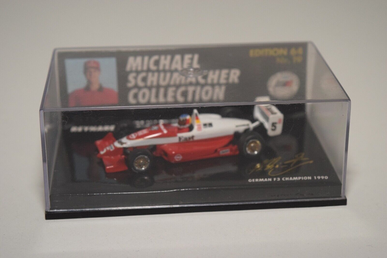 buena calidad V 1 64 MINICHAMPS SCHUMACHER REYNARD F3 GERMAN GERMAN GERMAN CHAMPION 1990 F1 FORMULA 1 MIB  el mejor servicio post-venta