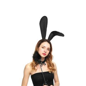 Crystal Rhinestone Bunny Ear Headband Girls Woman Hairband Party Fancy Dress