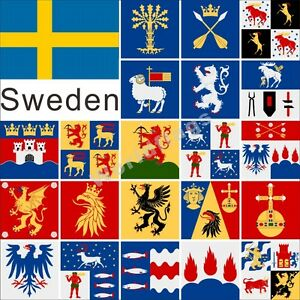 Sweden County Flag 4x4ft Ostergotland Skane Sodermanland Stockholm Uppsala Ebay