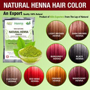 Organic Henna Hair dye/color 60 Grams For Men & Women 100 ...