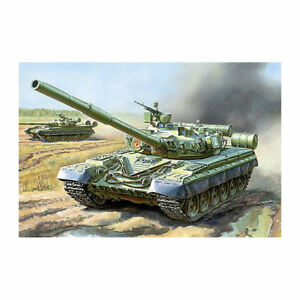 42c85fb3546d ZVEZDA 3590 T-80B Russian Main Battle Tank 1 35 Tank Model Kit ...