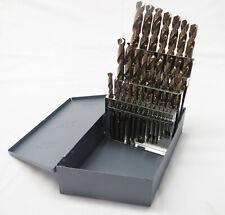 Lastcut 29 Pc Cobalt Jobber Drill Bit Set 116 To 12 By 64s Huot Case Split