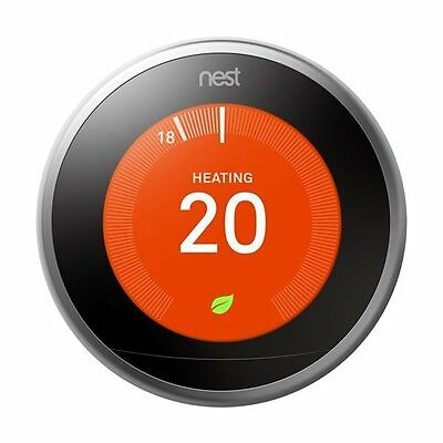 Nest T3007EF Learning Thermostat, 3rd Generation