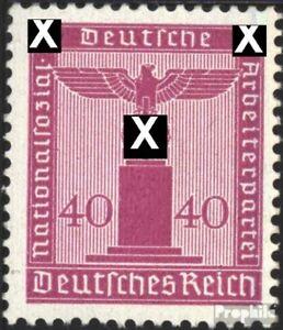 Deutsches-Reich-D165-Gefaelligkeitsentwertung-gestempelt-1942-Adler-auf-Sockel