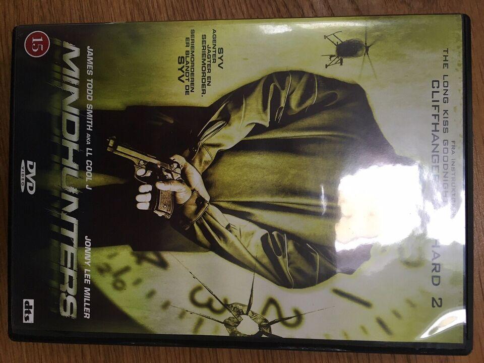 Mindhunters, DVD, drama