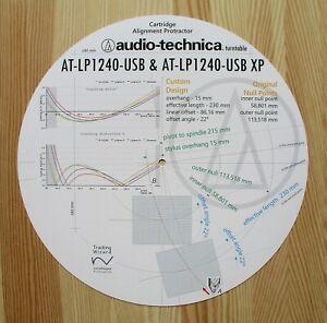 Audio-Technica-AT-LP1240-USB-Custom-Designed-Tonearm-Stylus-Alignment-Protractor