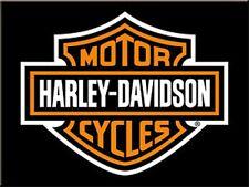 Harley Davidson Shield Logo (ls) metal fridge magnet (na)