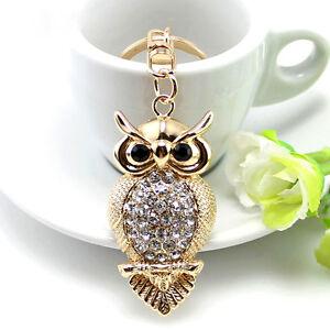 Rhinestone-Crystal-Keyring-Charm-Pendant-Purse-Bag-Key-Ring-Chain-Keychain-Gift