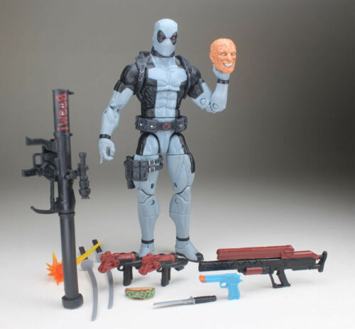 "Marvel Legends Uncanny X-Force Deadpool Hascon Exclusive 6/"" Loose Action Figure"