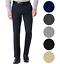 TM-Exposure-Men-039-s-Premium-Slim-Fit-Dress-Pants-Slacks-Flat-Front-Multiple-Colors thumbnail 1